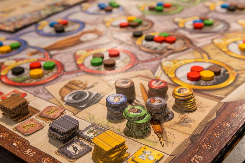 Great Voyage Brettspiel in der Nahaufnahme
