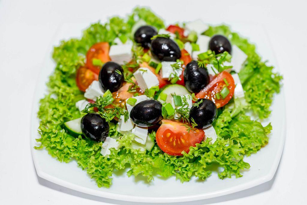 Greek salad with fresh vegetables (Flip 2019) (Flip 2019) Flip 2019