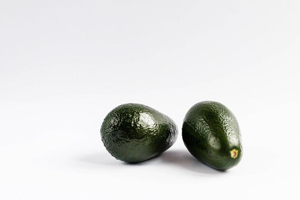 Group of fresh avocados