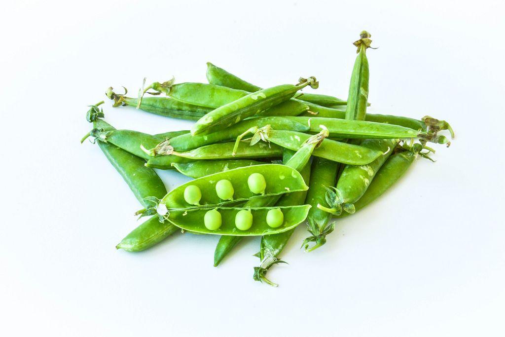 Grüne Erbsen