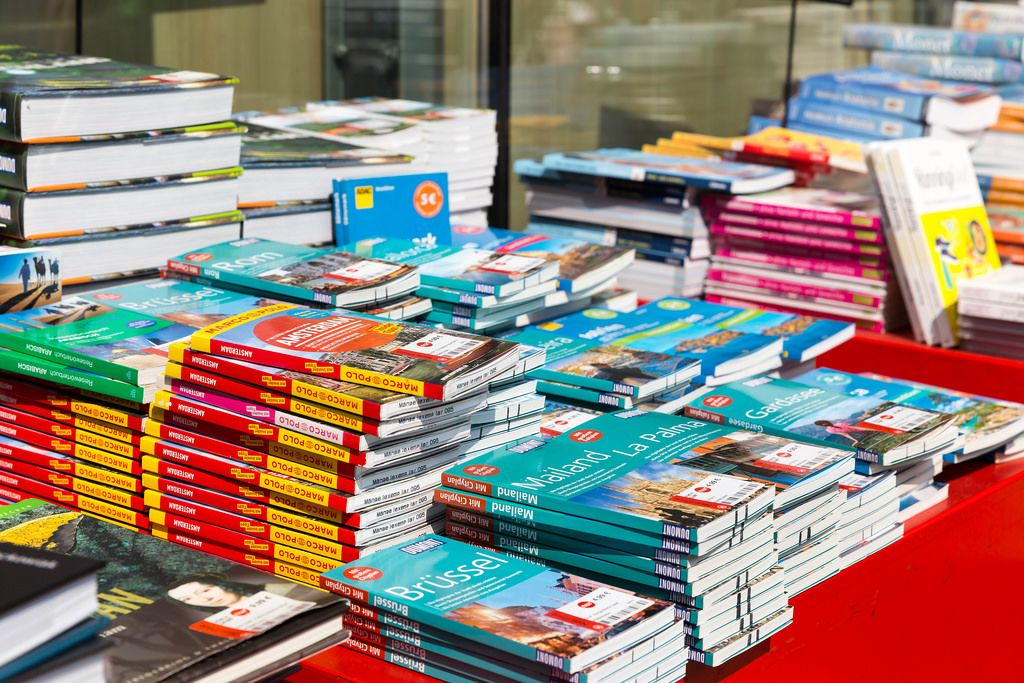 Guidebooks: Brussels, Milan, La Palma, Amsterdam