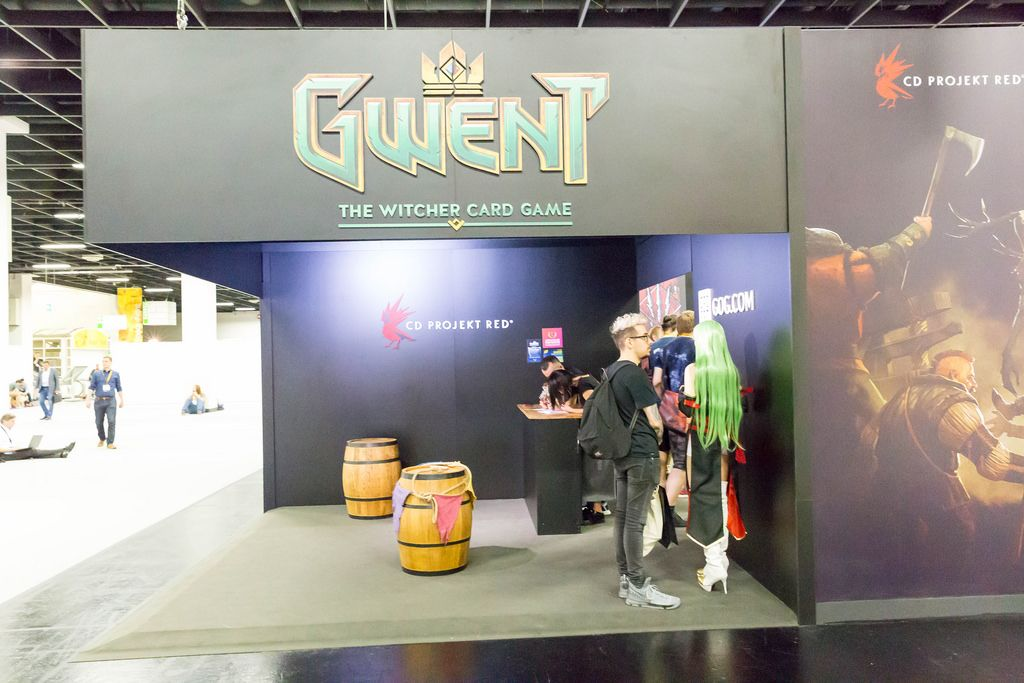 Gwent The Witcher Card Game - Gamescom 2017, Köln