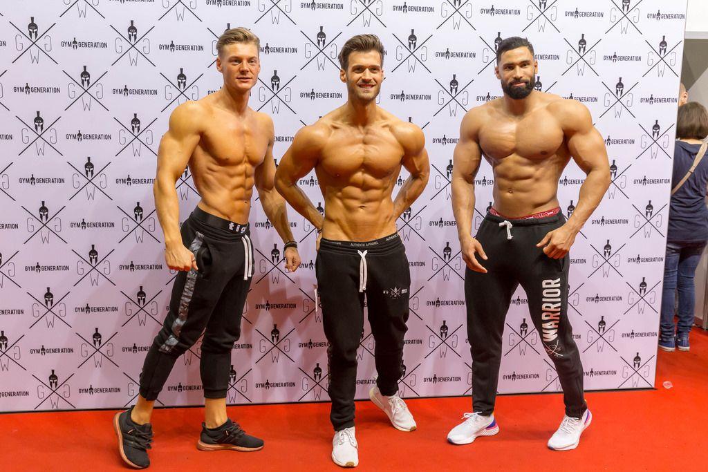 Gym Generation Modelle beim Fotoshooting - FIBO Köln 2018