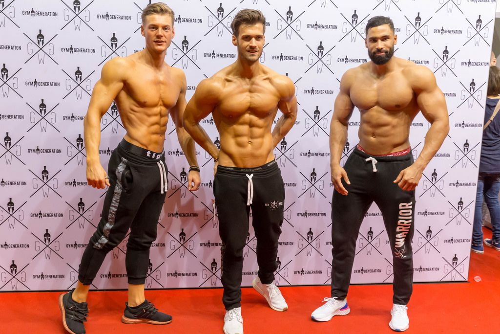 Gym Generation models photo shooting - FIBO Cologne 2018