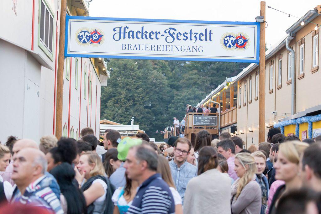Hacker-Festzelt Brauereieingang - Oktoberfest 2017