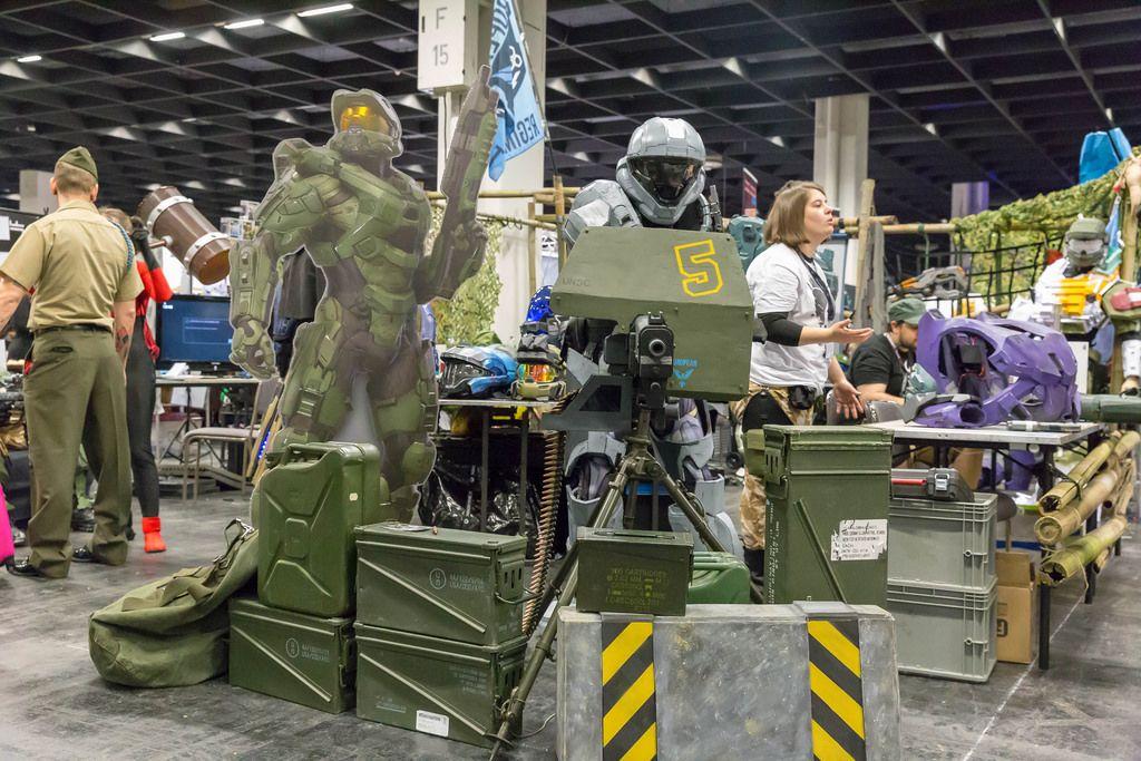 Halo Ausrüstung für LARP und Cosplay