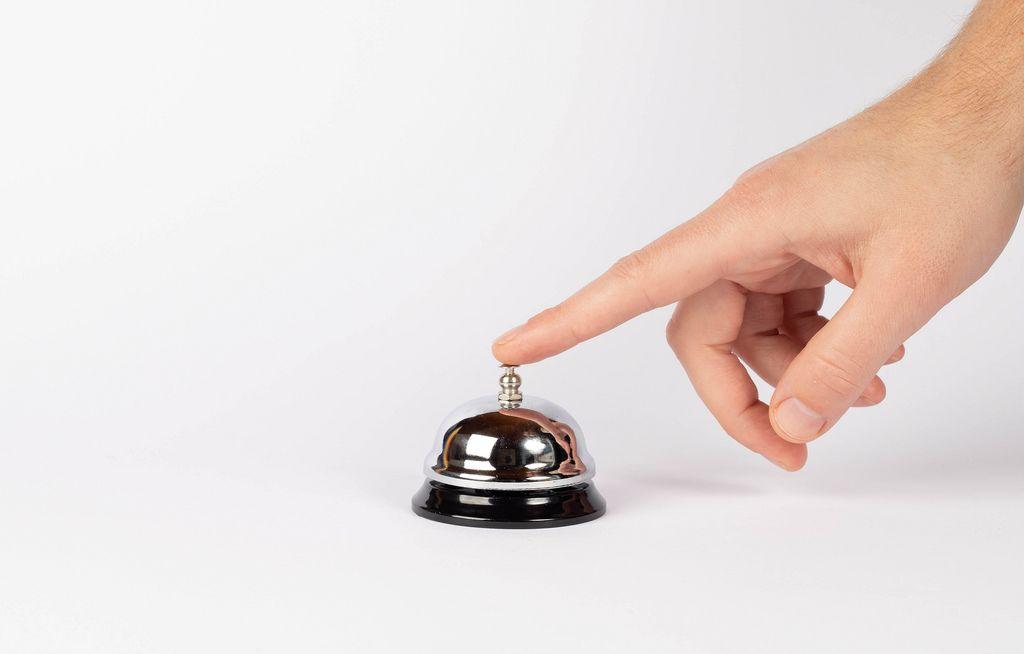 Hand ringing the bell (Flip 2019) (Flip 2019) Flip 2019