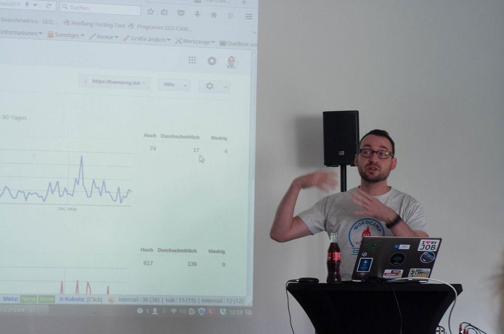 Hans Jung auf WordCamp Colgone 2016