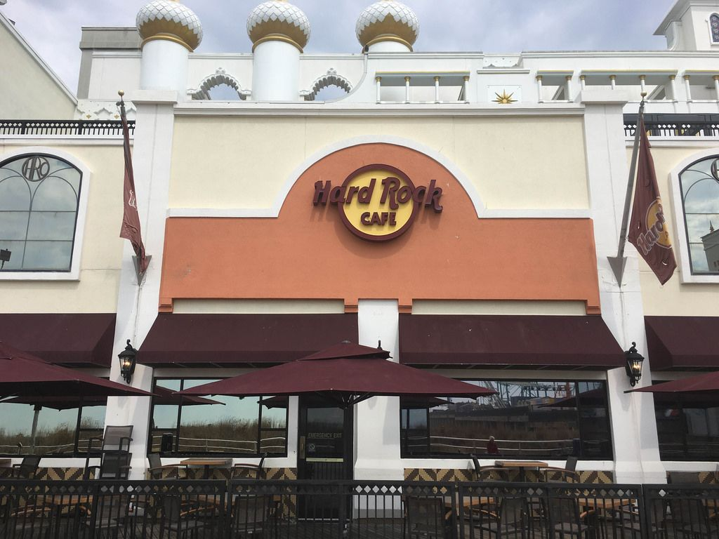 Hard Rock Cafe in Atlantic City, USA