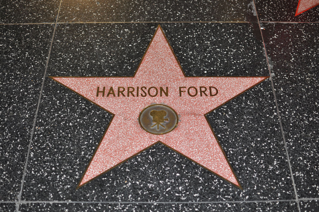 Harrison Ford, Walk of...