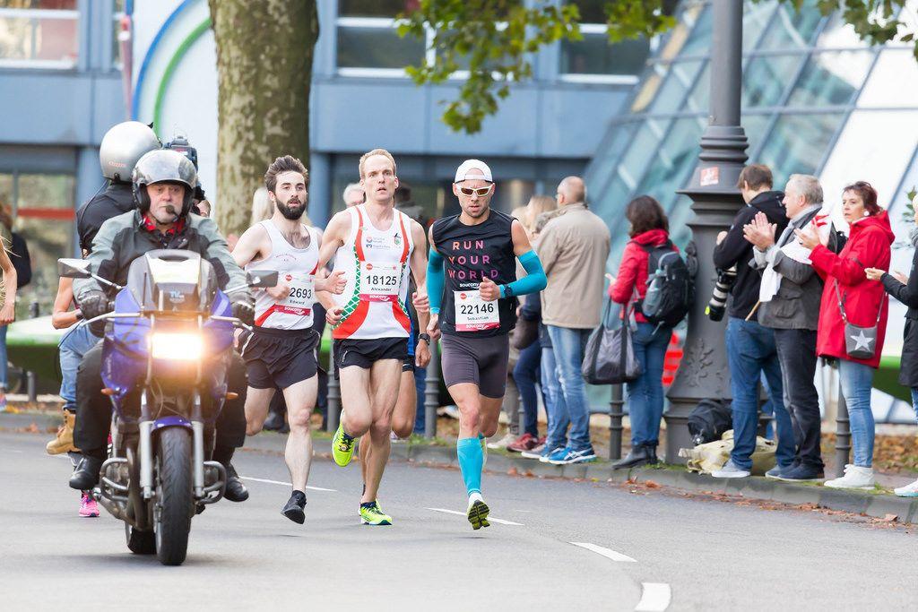 Harz Sebastian, Kerber Alexander, Campbell Edward - Köln Marathon 2017
