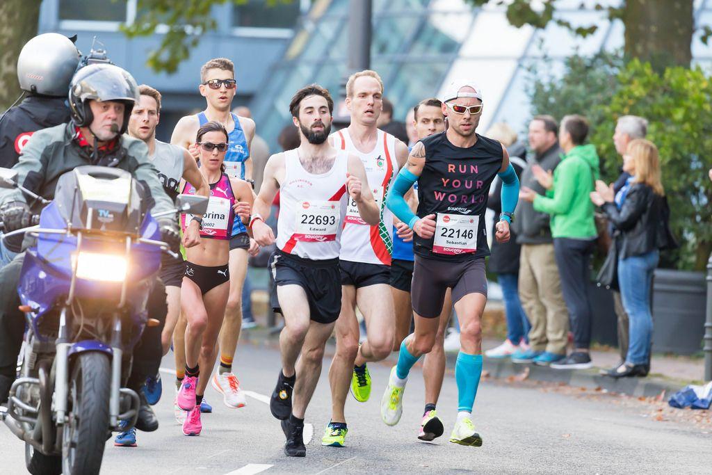 Harz Sebastian, Kerber Alexander, Campbell Edward, Mockenhaupt Sabrina - Köln Marathon 2017