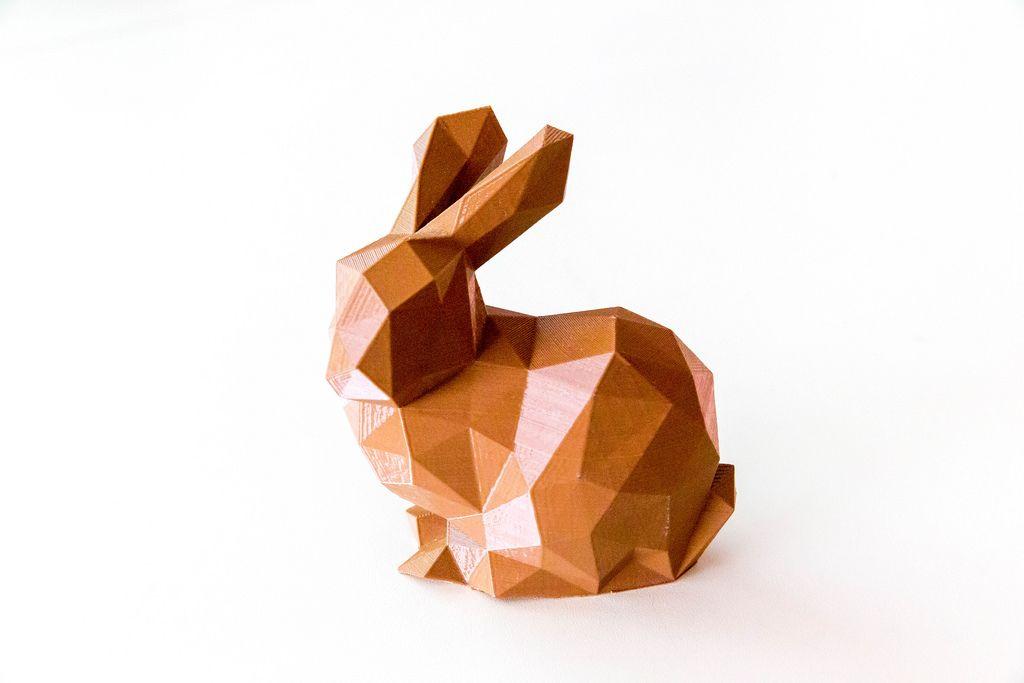 Hase aus dem 3D-Drucker