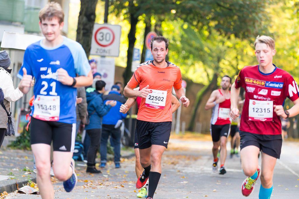 Haupt Dominik, Rosenow Philipp, Vetter Leon - Köln Marathon 2017