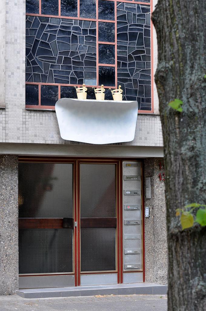 Häuserfassade in Köln