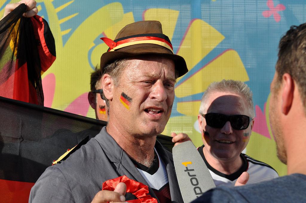 Hausmeister Krause bei der WM 2014 in Brasilien