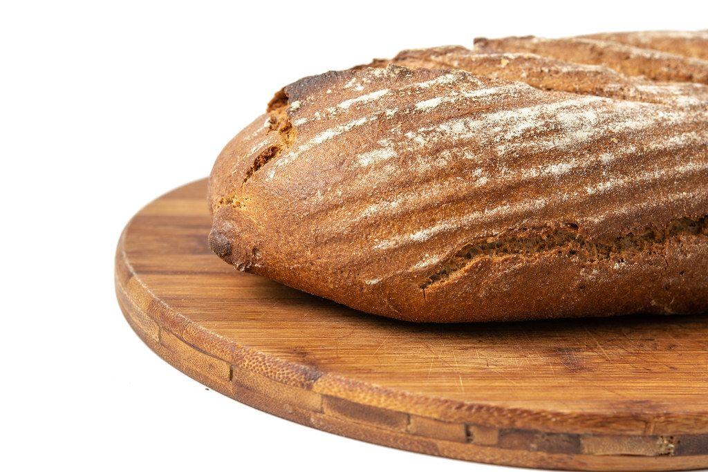 Healthy Chrono Bread on the wooden board