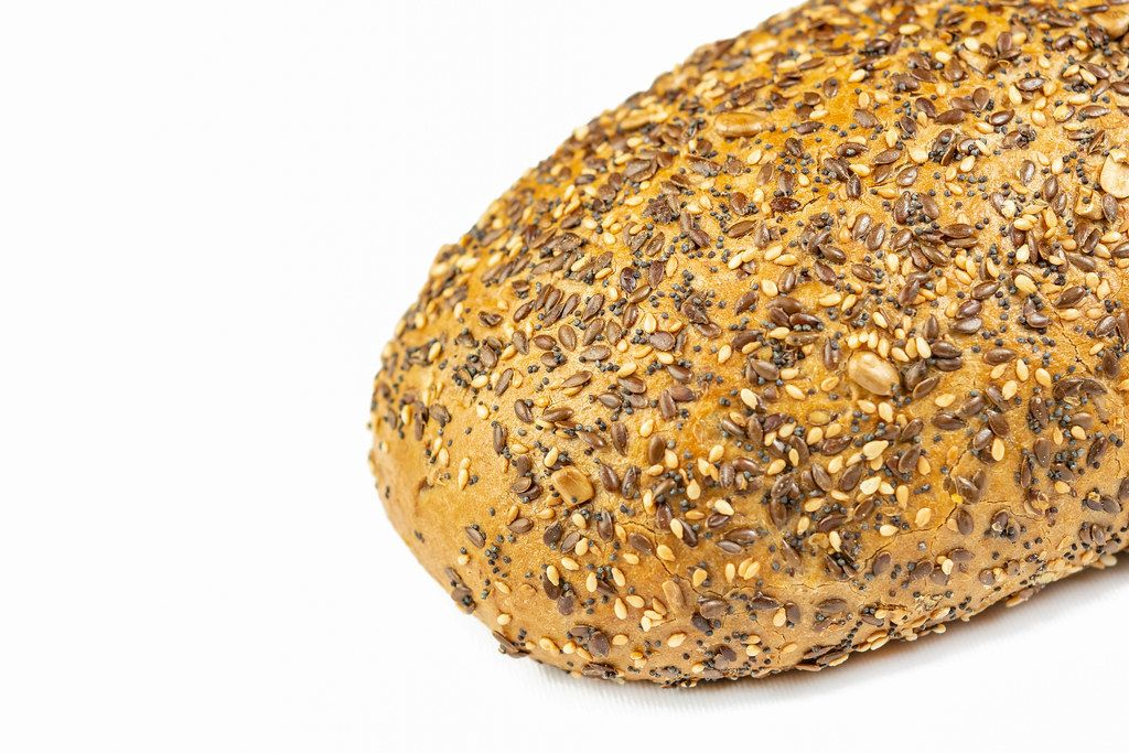Healthy Chrono Bread with Sesame and Flax Seed (Flip 2019)