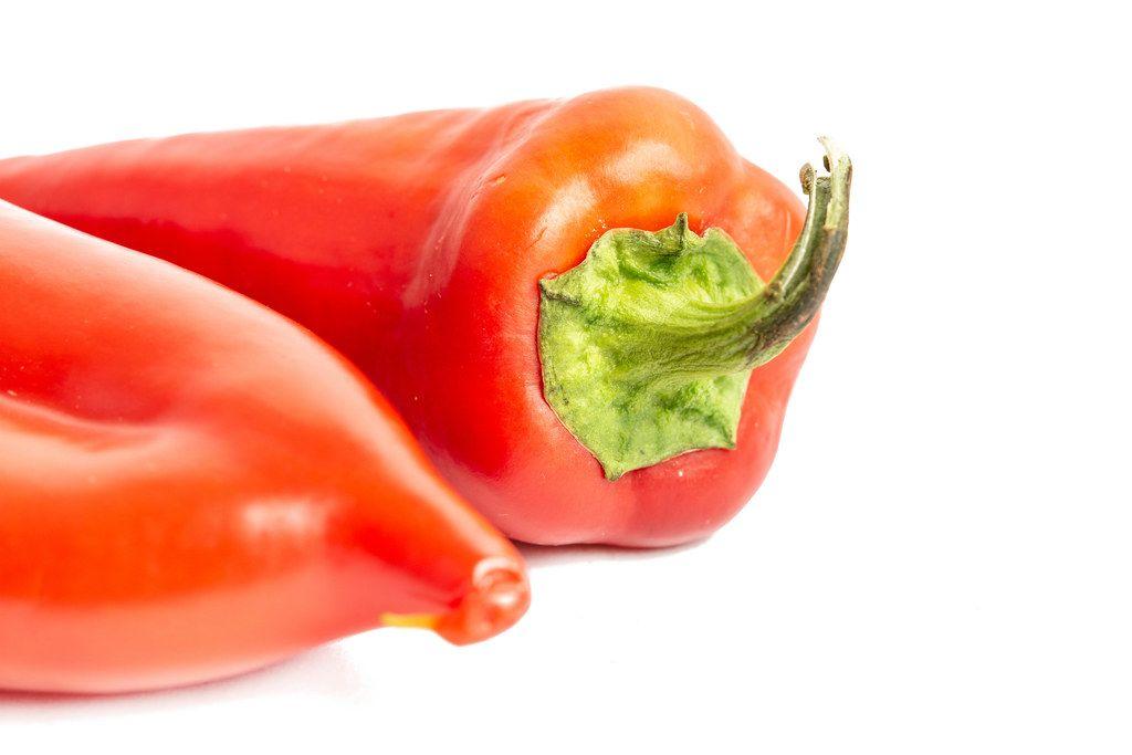Healthy fresh raw Red Paprika (Flip 2019)
