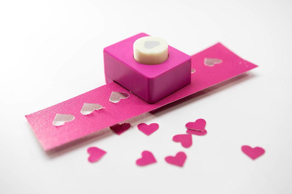 Heart paper shape cutter