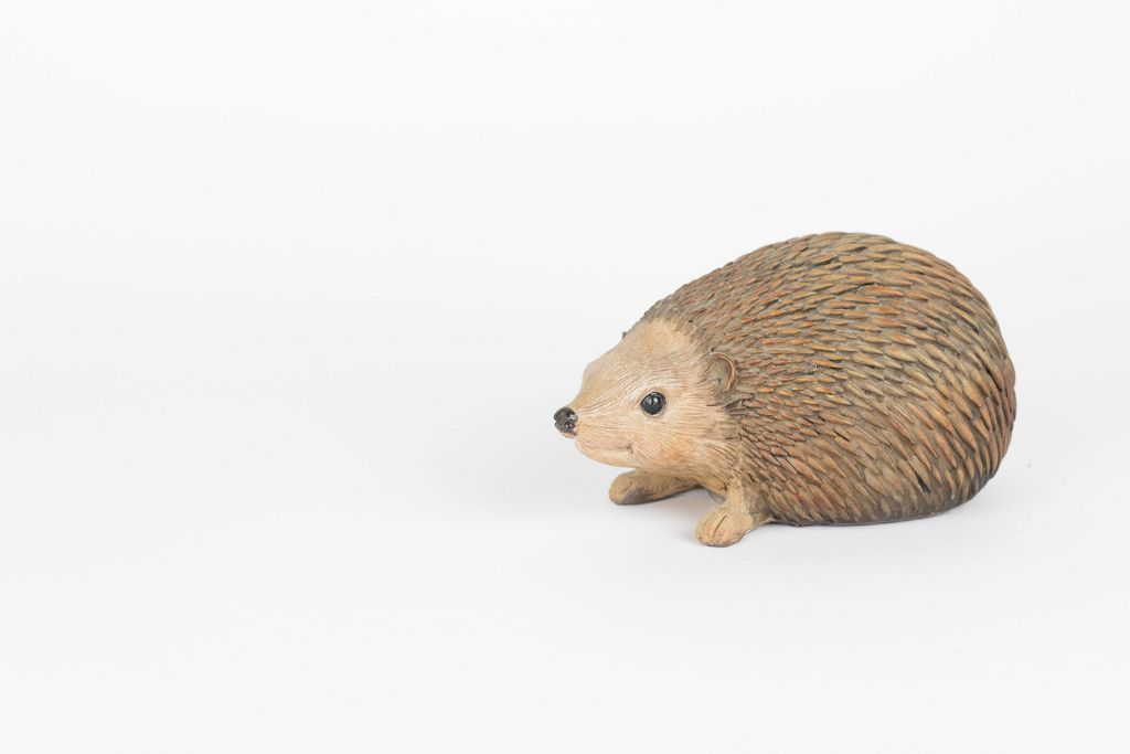 Hedgehog wooden toy
