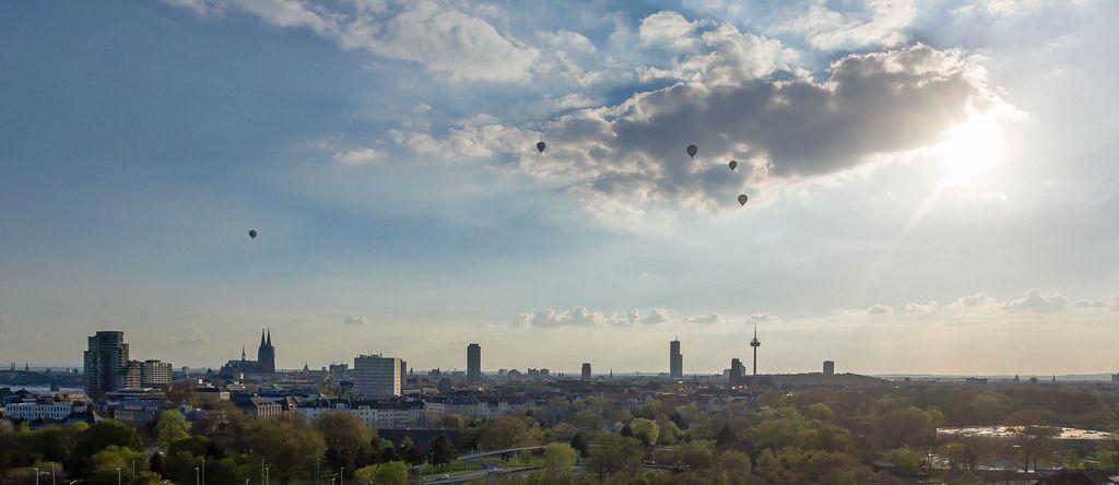 Heißluftballons in Köln