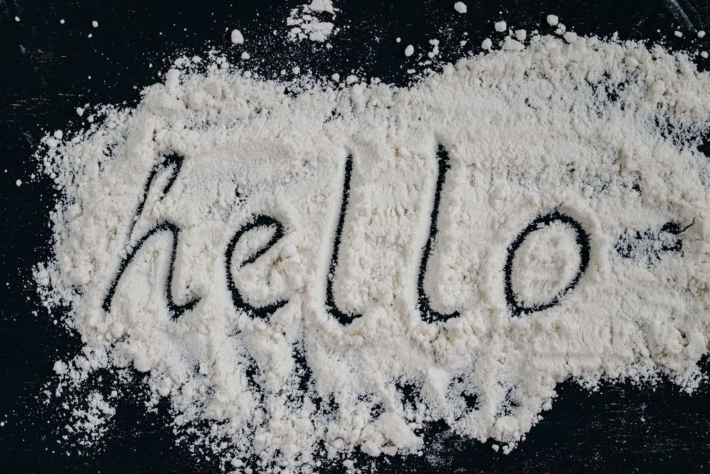 Hello Flour Word
