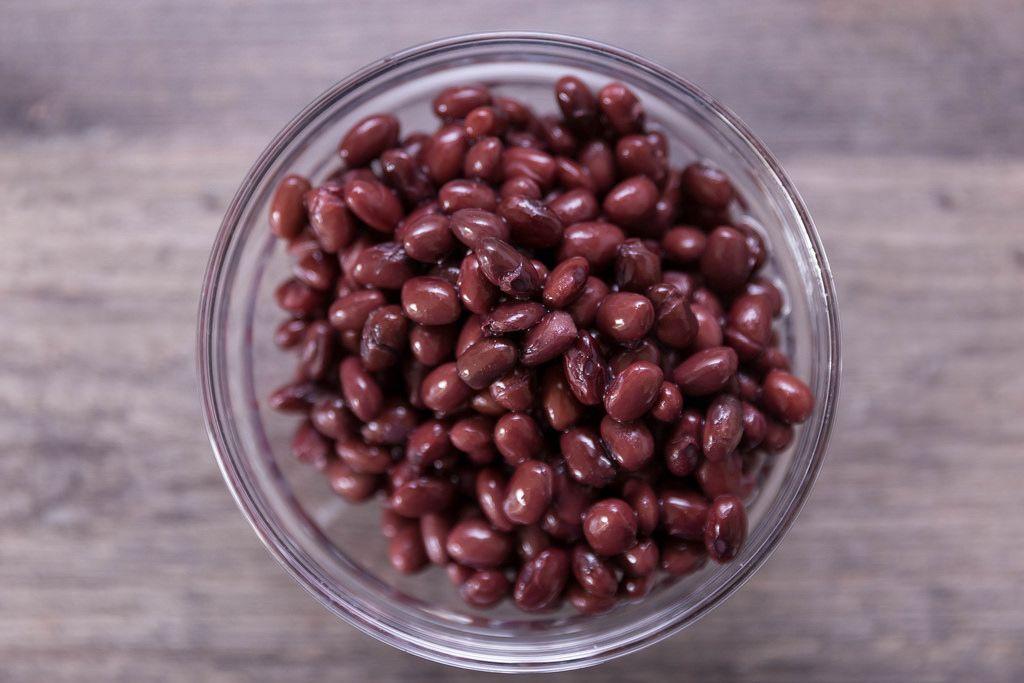 Hello Fresh Black Beans - High Angle Shot