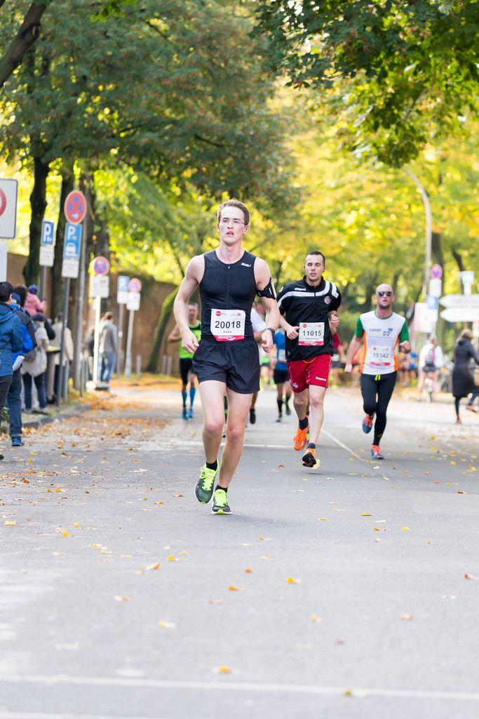 Hennerici Felix, Mohr Johannes, Maguire Paul - Köln Marathon 2017