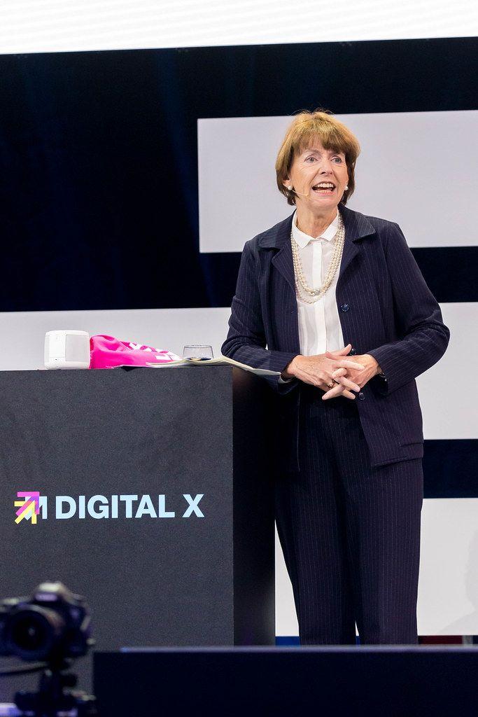 Henriette Reker auf der Digital X in Köln