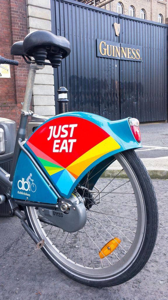 Hire bike in Dublin (DublinBikes)