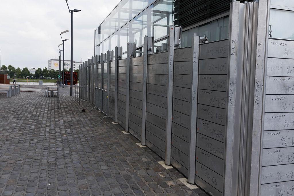 Hochwasserschutz in Köln
