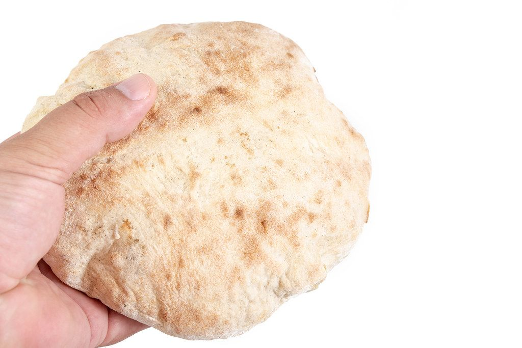 Homemade Bread in the hand