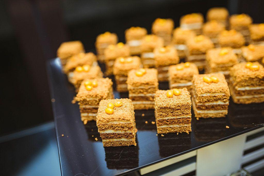 Homemade Honey Cakes. Organic, Closeup (Flip 2019)