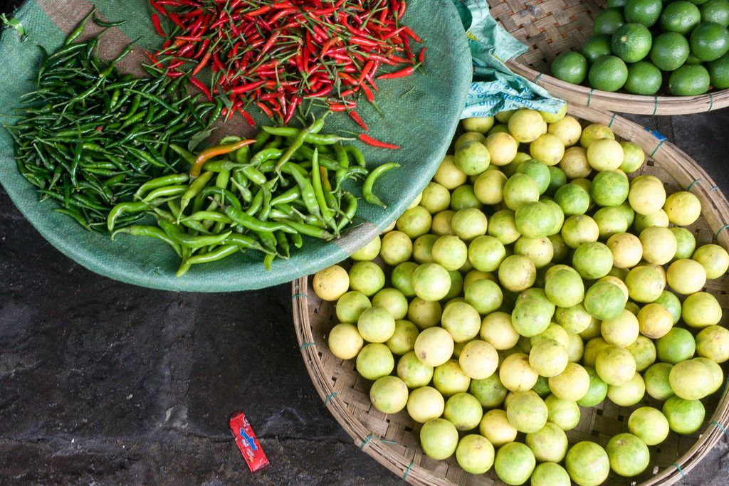 Hot Peppers (Chili) in Vietnam