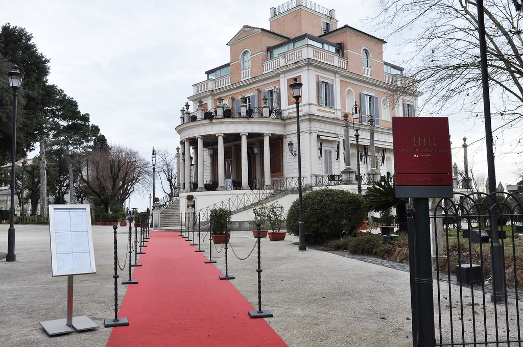 Hotel Casina Valadier in Villa Borghese, Rom