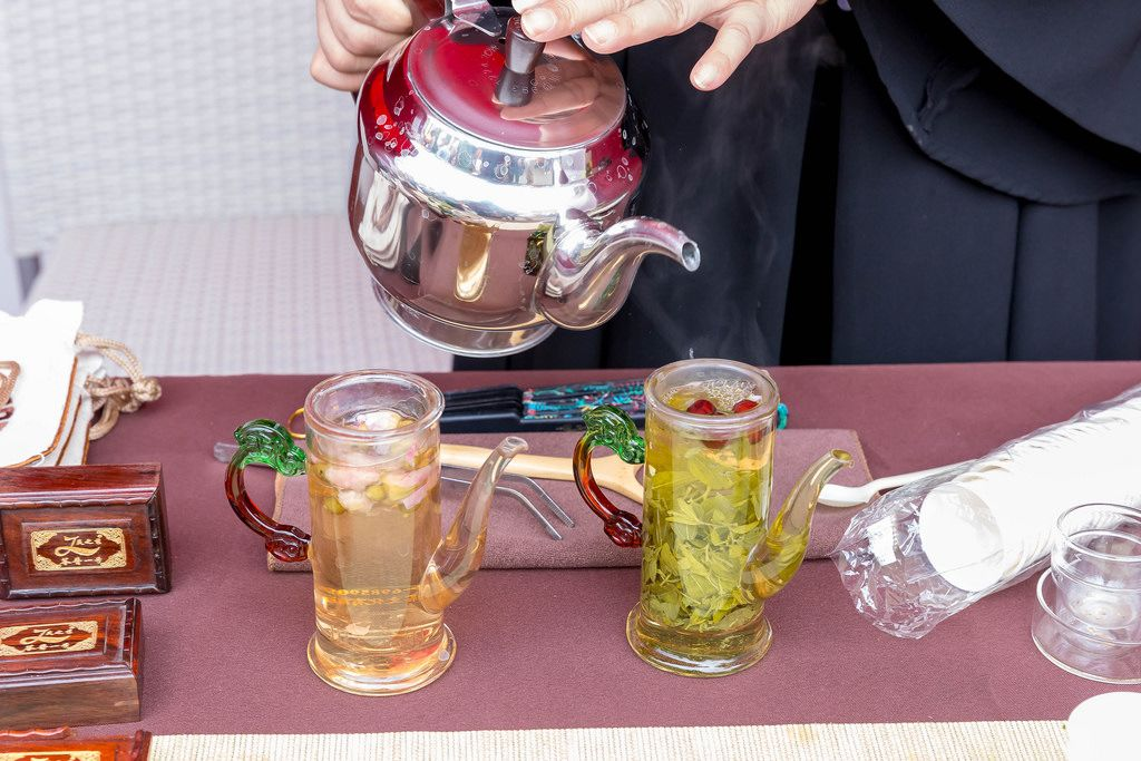 Huang Qin tea - Chinafest, Cologne