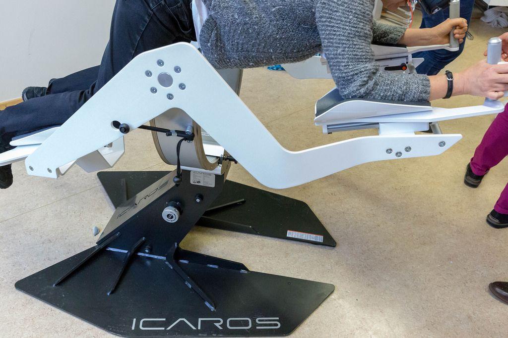 Icaros active virtual reality device