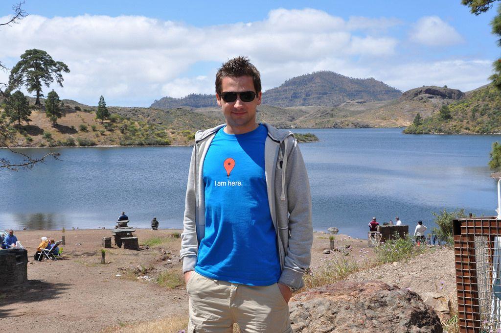 Ich beim Urlaub auf Gran Canaria