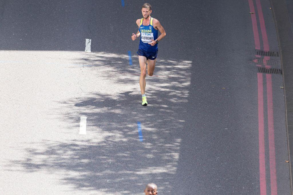 Ihor Olefirenko (Marathon Finale) bei den IAAF Leichtathletik-Weltmeisterschaften 2017 in London