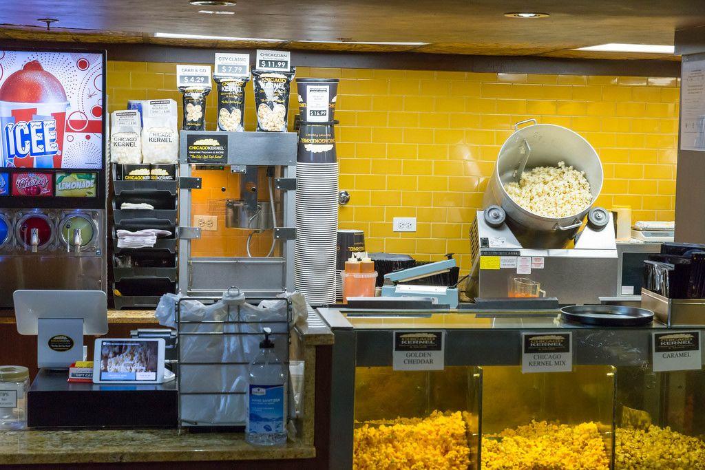Im Popcorn-Geschäft Chicago Kernel Gourmet Popcorn & More