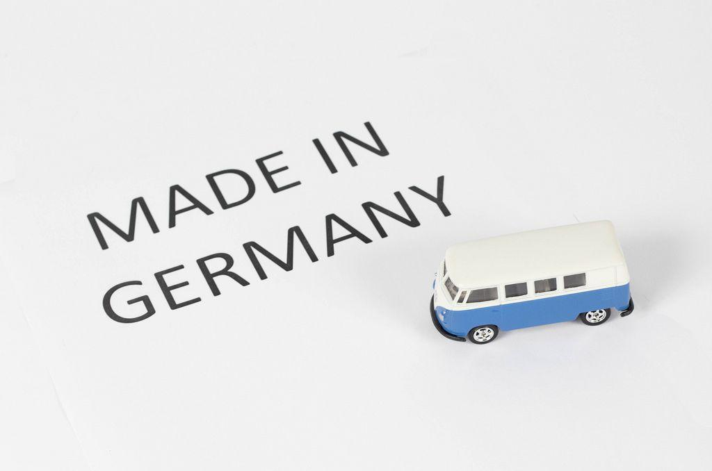 In Deutschland hergestellt / Made in Germany