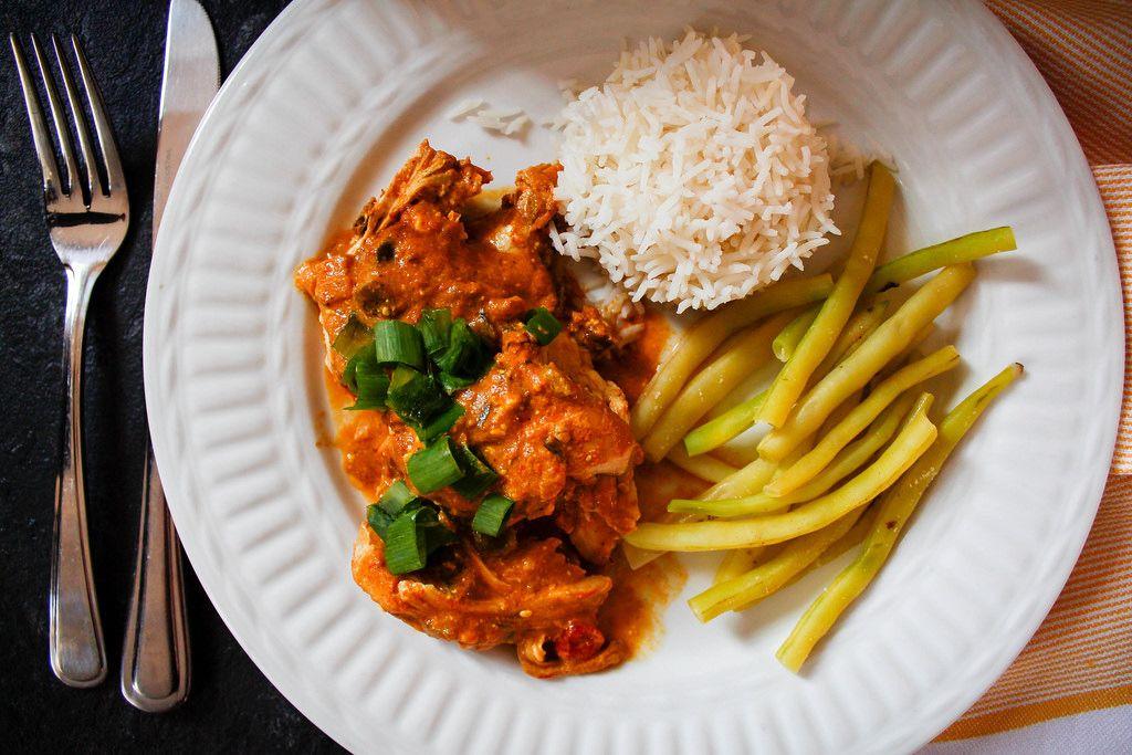 Indisch: Chicken Tikka Masala