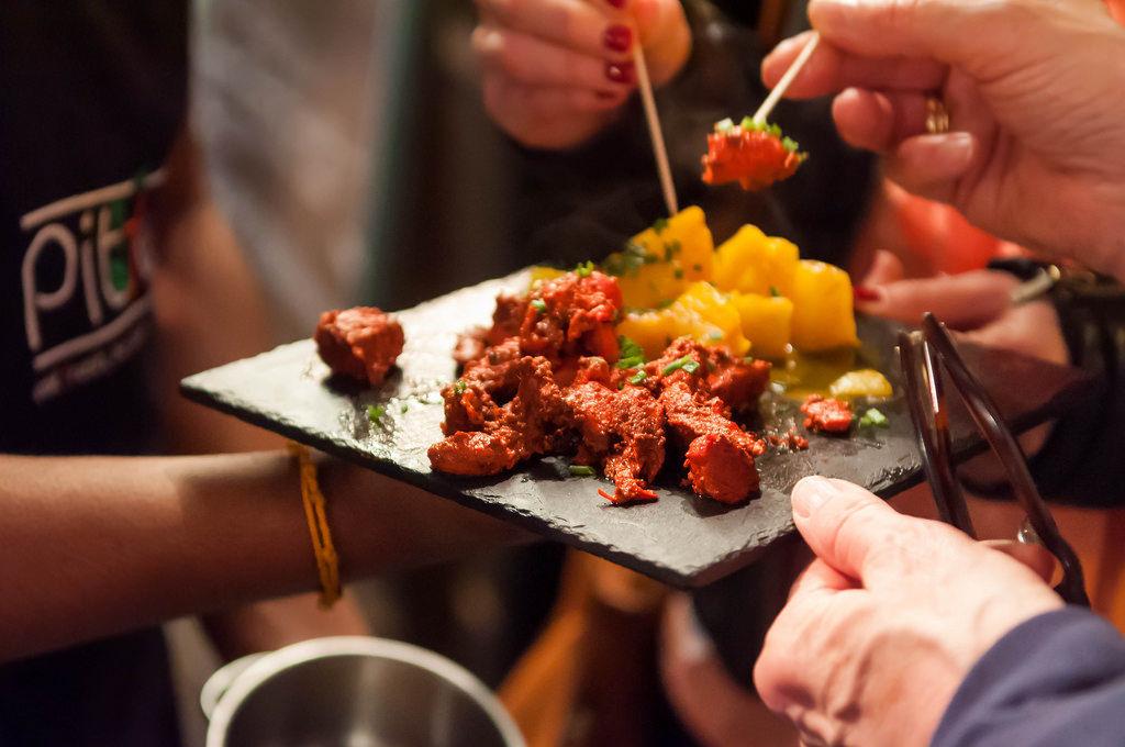 Indisches Beef und Ananas