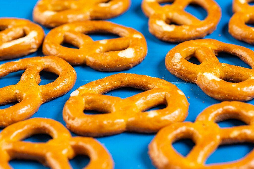 Industry Snacks Pretzels closeup image (Flip 2019)