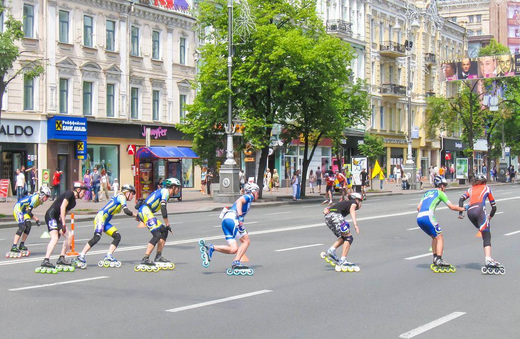Inline-Skater / Roller Blades Marathon
