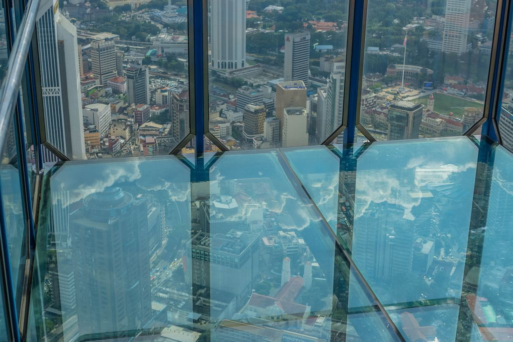 Inside the Sky Box at KL Tower in Kuala Lumpur