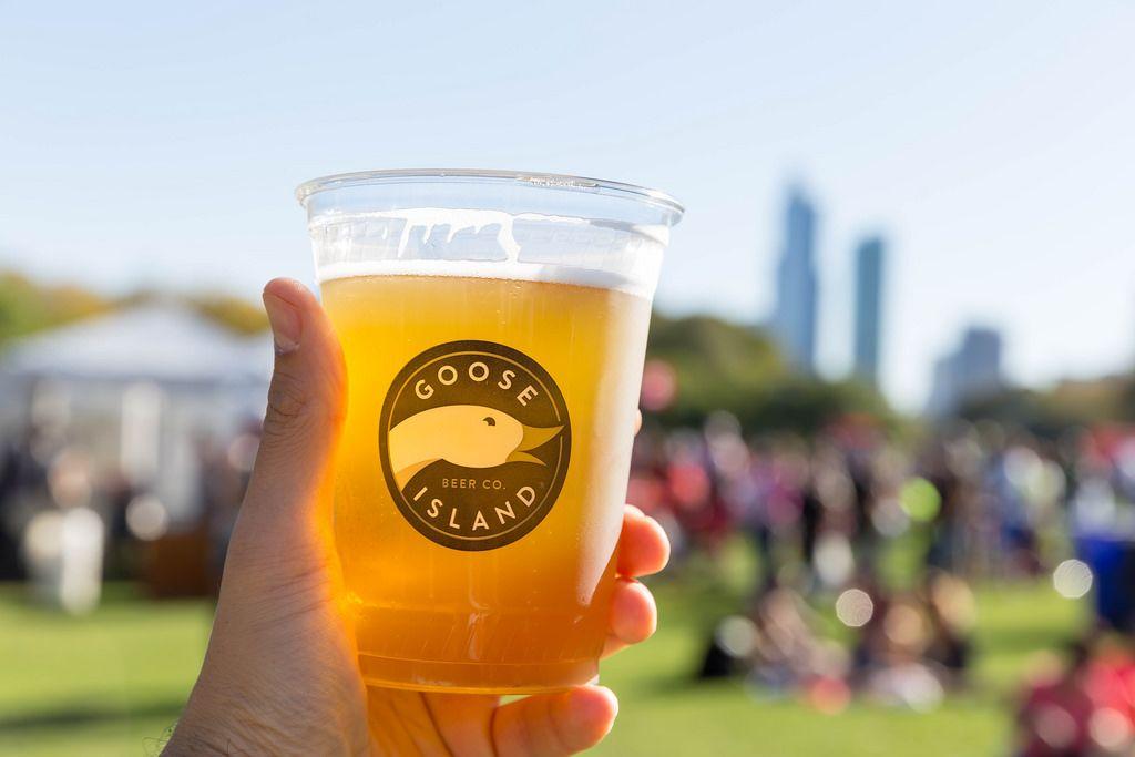 Interesting logo, tasty beer: Goose Island Beer Company