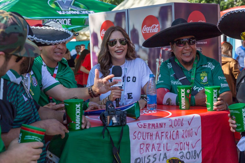 Interview with Mexican soccer fans