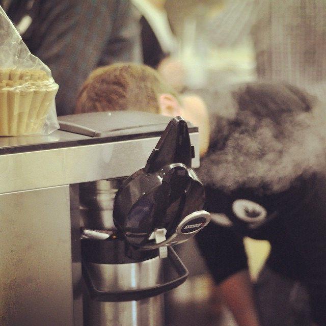 'Ist der Kaffee schon fertig oder wie?' #bccgn15